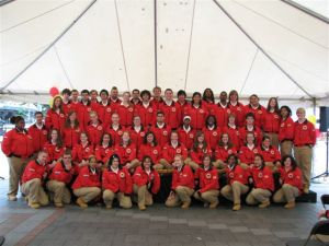 City Year kicks off their year of service at Westlake Plaza